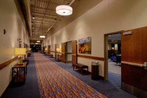 Conference Center Hallway