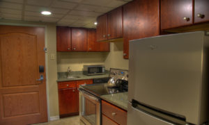 Studio Suite Kitchen at Fairmont Hot Springs Resort