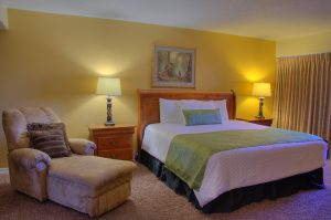 Presidential Suite Bedroom at Fairmont Hot Springs Resort