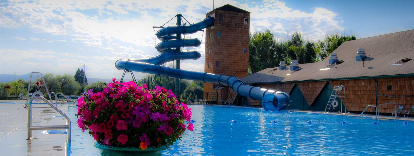 Fairmont Hot Springs Resort features the Whispering Willows Spa, Waterslides, Golf, Tennis, Banquet Facilities, Conference Facilities, Wedding Facilities