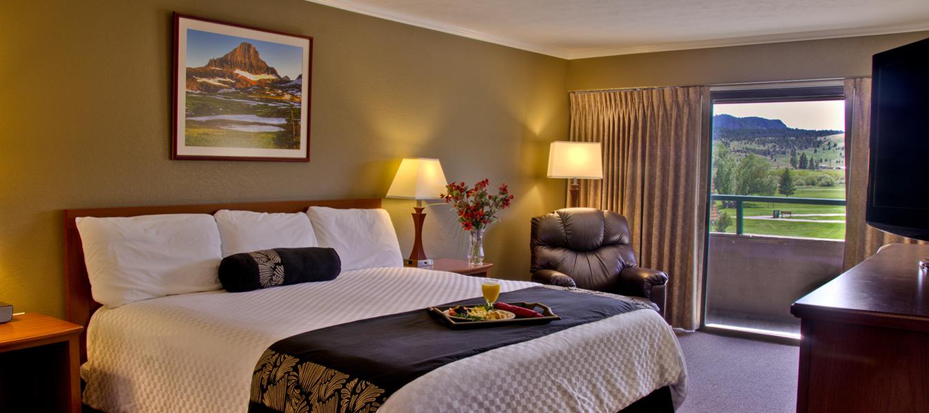 King Bedroom At Fairmont Hot Springs Resort